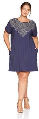 Nic+Zoe Women's Size Plus Luna Tunic Dress