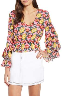 The Fifth Label Reunion Floral Print Blouse
