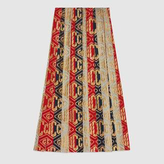Gucci (グッチ) - ルレックス GUCCI GAME ウール スカート