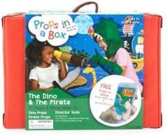 Props in a Box The Dinosaur and The Pirate Movie Maker Kit