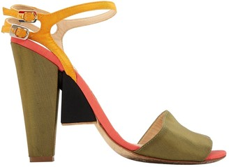 Fendi Cloth sandal
