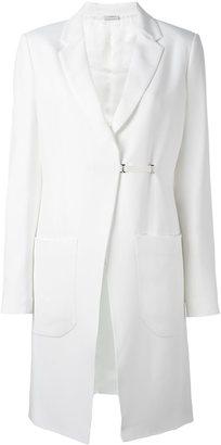 La Perla 'Leisuring' couture-cut coat $2,732 thestylecure.com