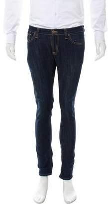Nudie Jeans Cropped Skinny Jeans