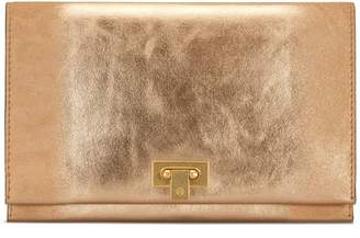 Tory Burch CARMEN METALLIC CLUTCH