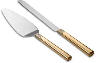 Waterford Diamond Cake Knife & Server