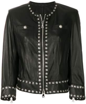 Sylvie Schimmel slim-fit studded jacket