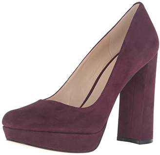 Nine West Women's Delay Suede Platform Pump