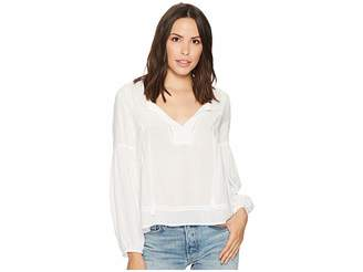 Splendid Paradise Cove Solid Bell Sleeve Top Women's Clothing