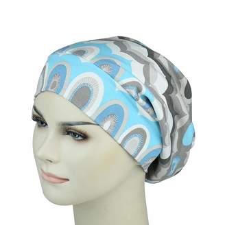 styling  FocusCare Satin Lined Sleep Cap Casual Slouchy Bonnet Headwear  Curly Hair Beanie Hats a3b6b5da5983