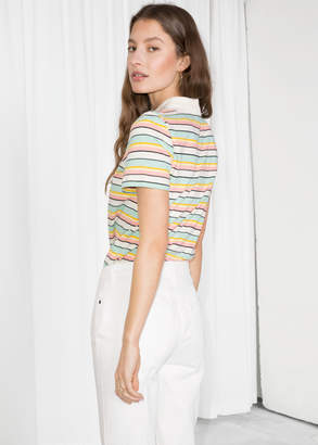 Striped Polo T