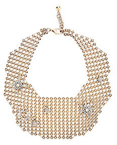 Lulu Frost Radiant Mesh Necklace $450 thestylecure.com