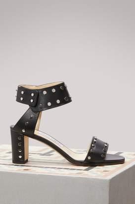 Jimmy Choo Veto 65 calf sandals
