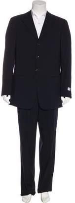 Armani Collezioni Three-Button Wool Suit