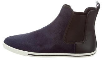 Marc by Marc Jacobs Ponyhair Round-Toe Ankle Boots