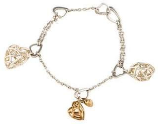 Links of London Heart Charm Bracelet