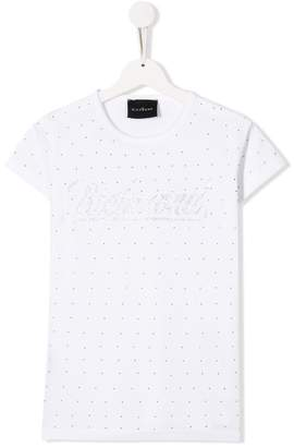 John Richmond Junior studded logo T-shirt
