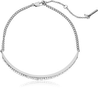 Kenneth Cole New York Baguette Stone Choker Necklace