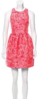 Markus Lupfer Brocade Mini Dress