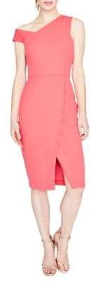 Rachel Roy April Scuba & Crepe Knee-Length Dress