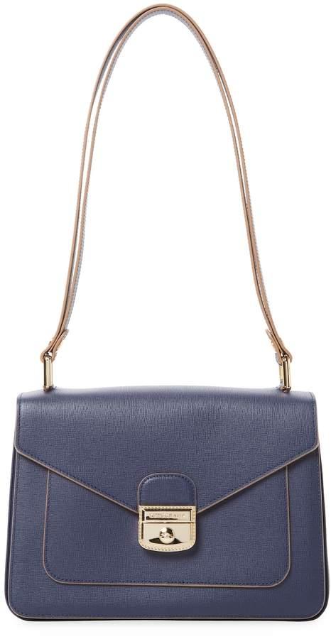 Longchamp Women's Le Pliage Hritage Leather Shoulder Bag