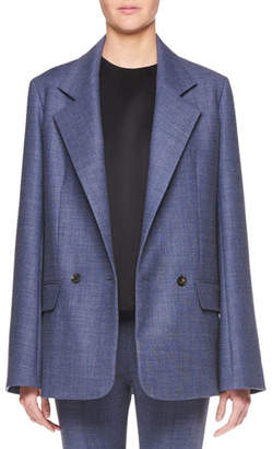The Row Spreyley Double-Breasted Wool-Blend Jacket