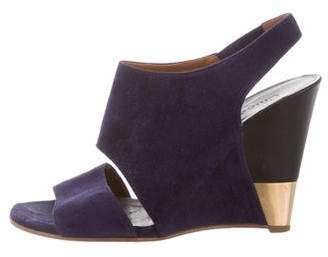 Chloé Suede Slingback Sandals