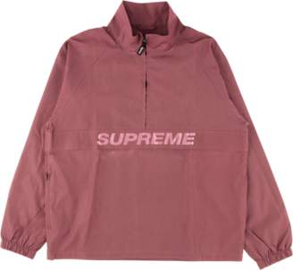Supreme Reflective Half Zip Pullover - 'SS 17' - Red