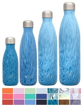 Rock & Candy Simple Modern 34oz Wave Bottle - Vacuum Insulated Double Wall 18/8 Stainless Steel Hydro Water Swell Flask - Rock Candy
