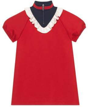 Gucci Children's technical jersey dress