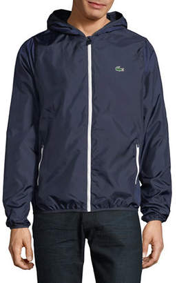 Lacoste Zip-Up Hooded Jacket