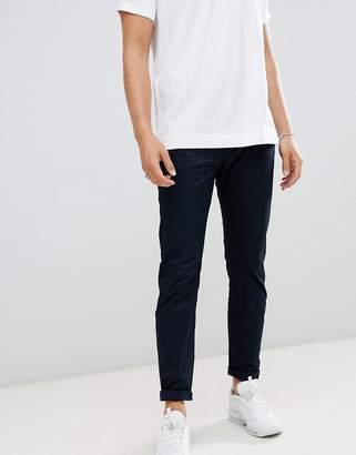 Armani Exchange J13 slim fit 5 pocket Gabardine stretch pants in navy