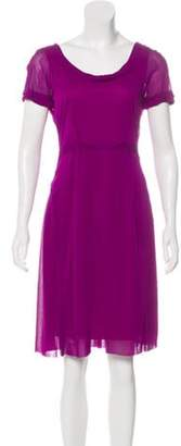 Marc Jacobs Bateau Swing Dress Violet Bateau Swing Dress