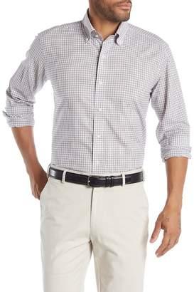 Peter Millar Moon Valley Check Chambray Regular Fit Shirt