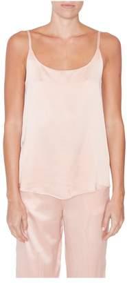 Asceno Pink Silk Cami