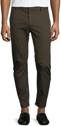 Lanvin Cotton Biker Pants