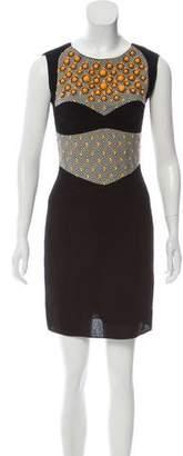 Missoni Embellished Sleeveless Mini Dress