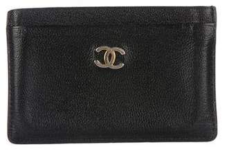 Chanel Leather CC Card Holder