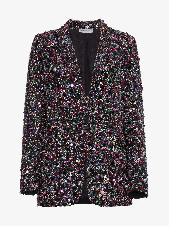 Beau Souci Multicoloured Sequin Jacket