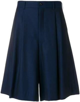 Comme des Garcons wide leg shorts