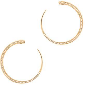 Vita Fede Moon Crystal Rose Gold-plated Earrings