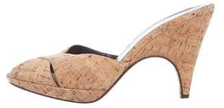 Donald J Pliner Cork Slide Sandals
