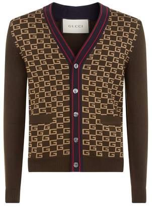 Gucci Long Sleeve Cardigan