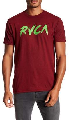 RVCA Shredder Logo Crew Neck Tee