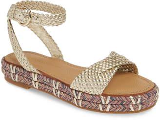 Sigerson Morrison Jaiyce Woven Platform Sandal