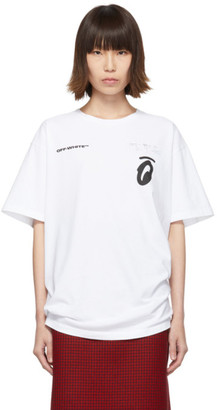 Off-White Whtie Splitted Arrows T-Shirt
