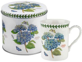 Portmeirion Botanic Garden Mug and Tin Set - Hydrangea