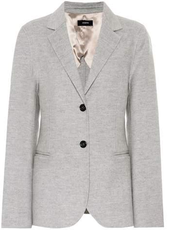 Blazer aus Wolle und Cashmere
