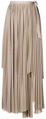 Erika Cavallini long pleated skirt