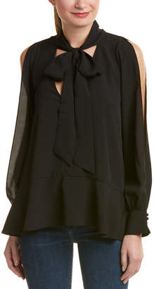 French Connection Tie-Neck Top