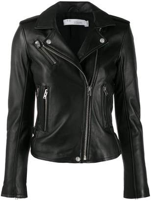 IRO fitted biker jacket